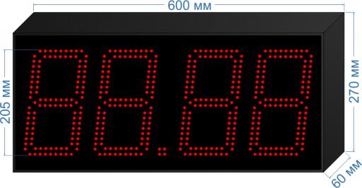 Купить электронное табло для азс «asm-205_v1» у производителя.