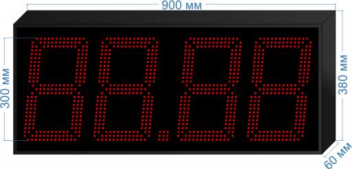 Купить электронное табло для азс «asm-300_v1» у производителя.