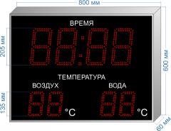 Часы-метеостанция C-HM-2T-205_v2