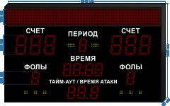Спорт. табло универсальное SP-UN-205-BS160_v2