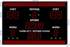 Спорт. табло универсальное SP-UN-355-BS160x2_v2