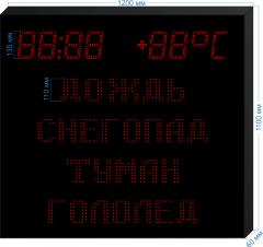Табло погодных условий PU-110_HM-135_v2