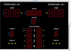 Спорт. табло для волейбола  SP-VB-355_v1