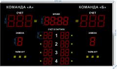 Спорт. табло для волейбола  SP-VB-355_v2